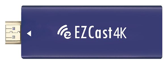 EZCast 4K wireless diplay receiver in 4K