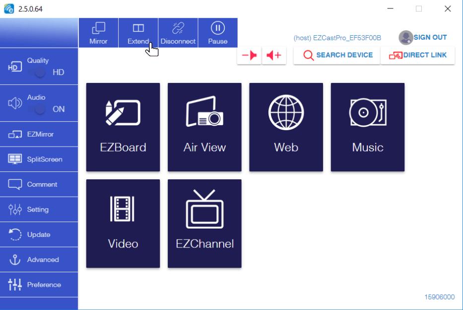 EZCast Pro update extends your Windows 10 desktop wirelessly - EZCast