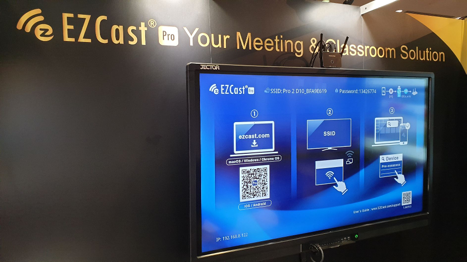 Use EZCast Pro to improve your meeting and classroom productivity.